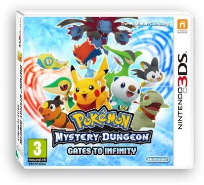 Pokemon Mystery Dungeon: Gates To Infinity 3Ds - Game Code