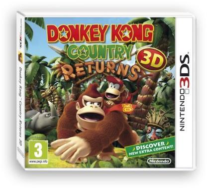 Donkey Kong Country Returns 3D 3Ds - Game Code
