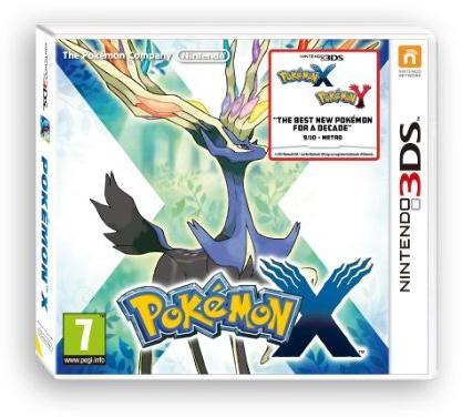 Pokemon X 3Ds - Game Code