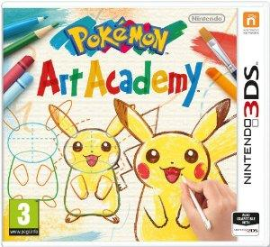 Pokemon Art Academy 3Ds - Game Code