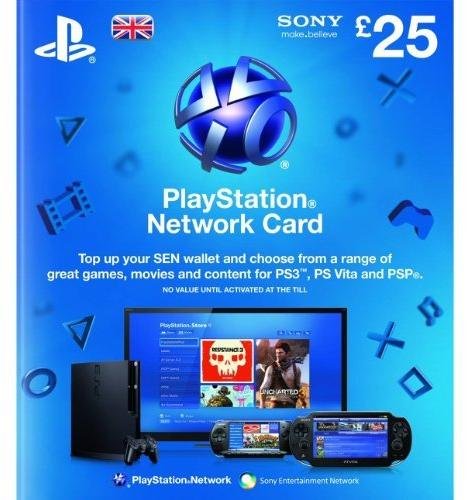 Playstation Network Card - £25