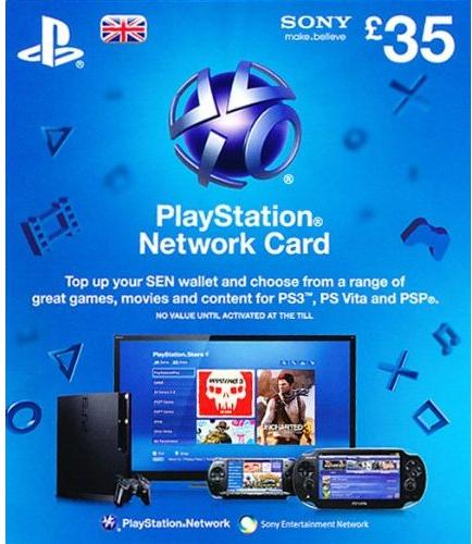 Playstation Network Card - £35