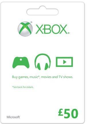Microsoft Gift Card - £50