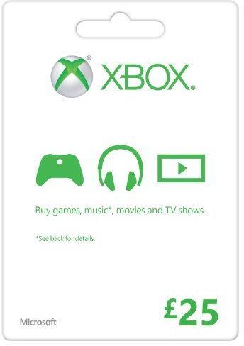 Microsoft Gift Card - £25