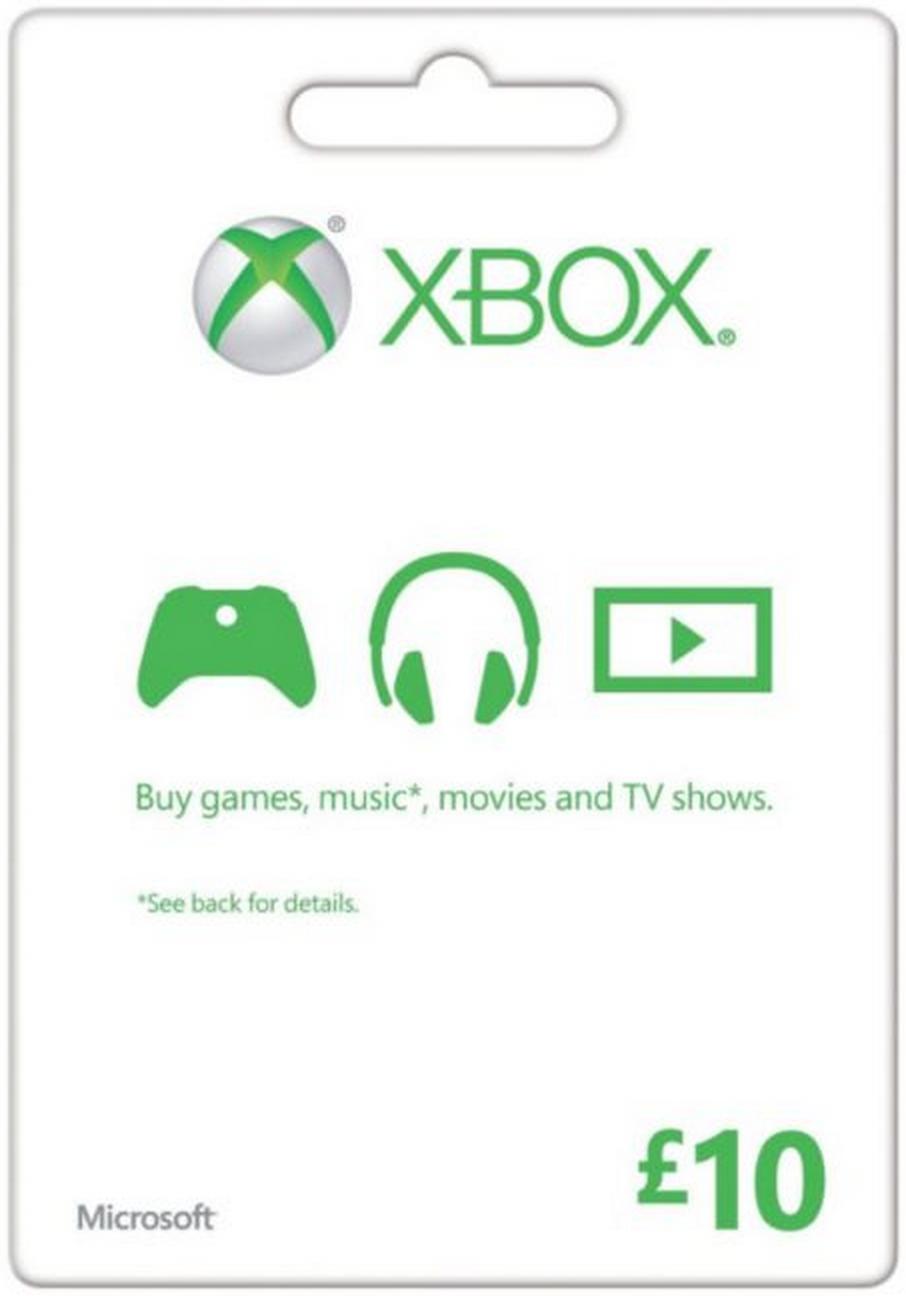 Microsoft Gift Card - £10