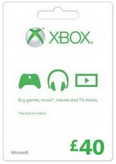 Microsoft Gift Card - £40