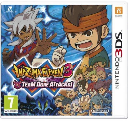 Inazuma Eleven 3 Team Ogre Attacks Game 3Ds - Game Code