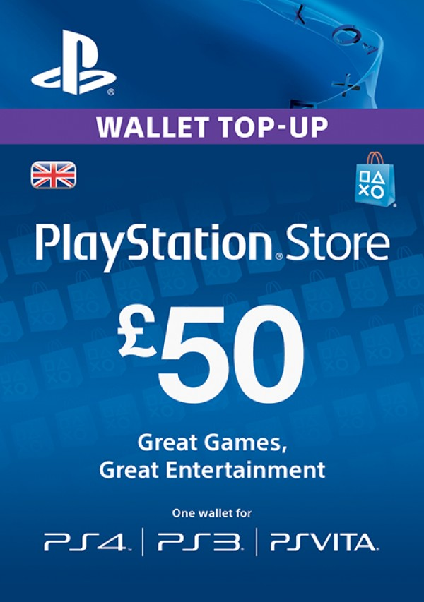 Playstation Network Card - £50