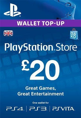 Playstation Network Card - £20