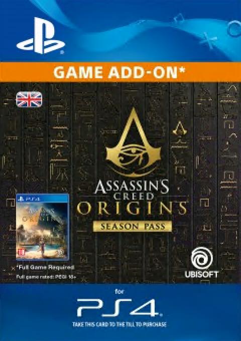 Assassins Creed Origins Season Pass Ps4