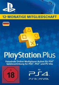 PlayStation Plus - 12 Month Subscription (Germany)