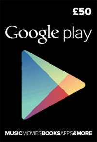 Google Play Gift Card £50 GBP