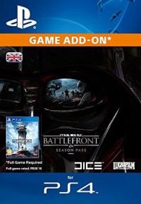 Star Wars Battlefront Season Pass PS4 PSN Code