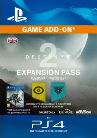 Destiny 2 Expansion Pass PS4