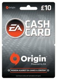 EA Origin Cash Card - 10 GBP