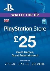 Playstation Network Card - £25 (PS Vita/PS3)