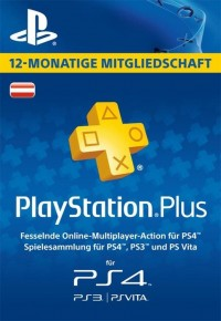 PlayStation Plus - 12 Month Subscription (Austria)