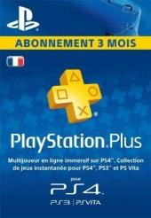PlayStation Plus - 3 Month Subscription (France)
