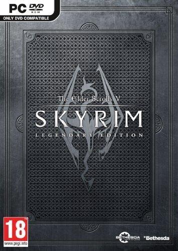 The elder scrolls v: skyrim legendary edition video game pc.
