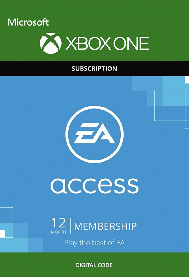 EA Access 12 Month Subscription for Xbox One