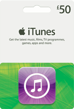 Itunes Gift Card 50