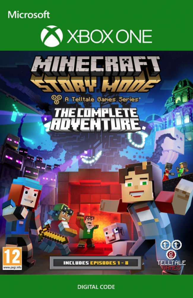 Minecraft story mode complete adventure xbox one cd key key minecraft story mode complete adventure xbox one zoom ccuart Gallery