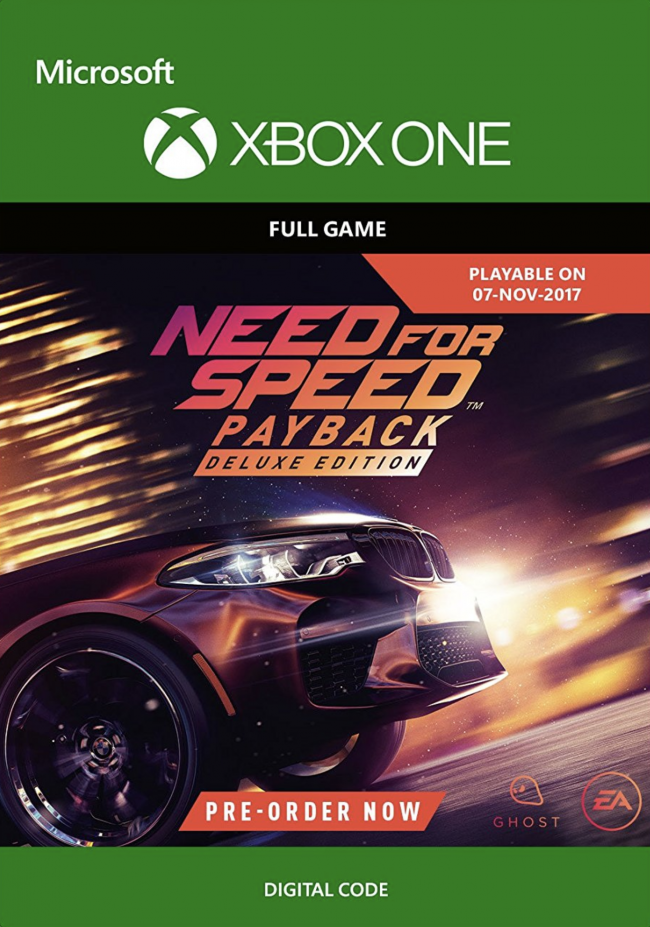 Need For Speed Payback How To Get Deluxe Editon Cars