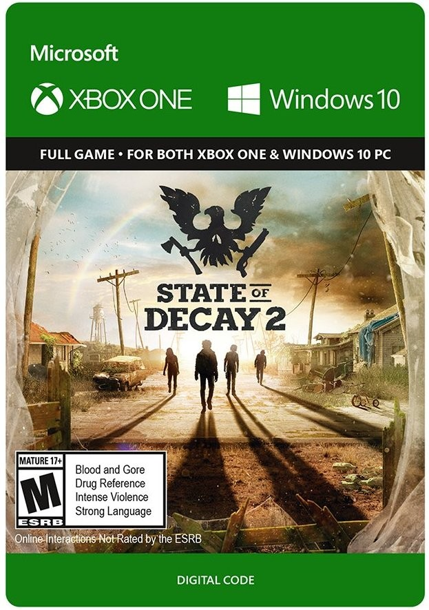 state of decay 2 xbox one  pc cd key  key