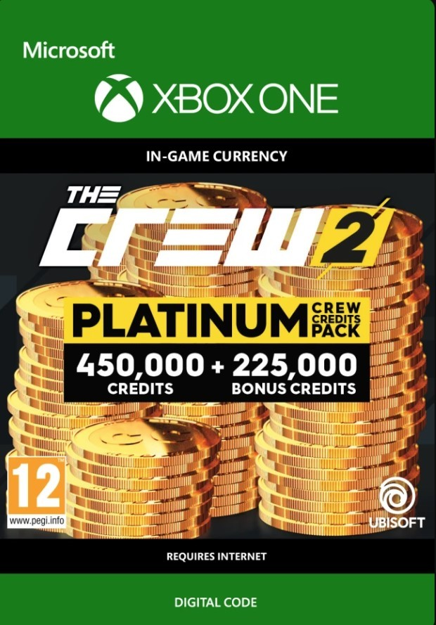 the crew 2 platinum crew credits pack xbox one cd key key. Black Bedroom Furniture Sets. Home Design Ideas