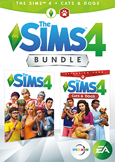 The Sims 4 - Cats and Dogs Expansion Bundle PC/Mac