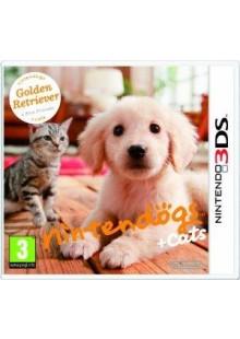 Nintendogs + Cats - Golden Retriever + New Friends 3DS - Game Code