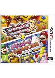 Puzzle and Dragons Z + Puzzle and Dragons Super Mario Bros. Edition Nintendo 3DS/2DS - Game Code