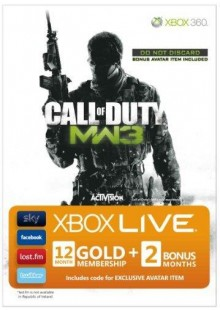 12 + 2 Month Xbox Live Gold Membership - MW3 Branded (Xbox One/360)