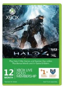 12 + 1 Month Xbox Live Gold Membership + Halo 4 Corbulo Emblem (Xbox One/360)