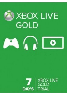 7 Day Trial Xbox Live Gold Membership (Xbox One/360)