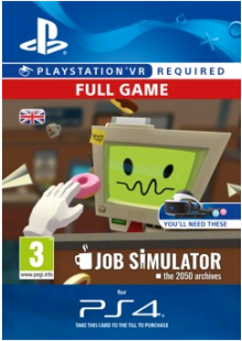 Job Simulator VR PS4
