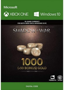 Middle-Earth: Shadow of War - 1050 Gold Xbox One