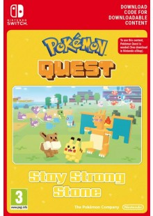 Pokemon Quest - Stay Strong Stone Switch
