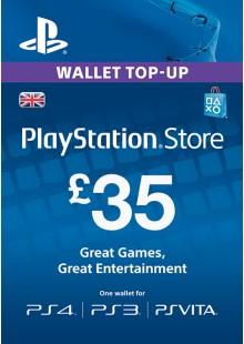 Playstation Network Card - £35 (PS Vita/PS3/PS4)