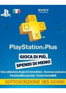 PlayStation Plus (PS+) - 12 Month Subscription (Italy)