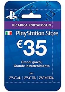 PlayStation Network (PSN) Card - 35 EUR (Italy)