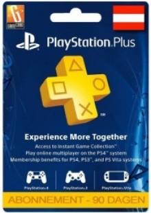 PlayStation Plus (PS+) - 3 Month Subscription (Austria)