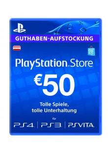 PlayStation Network (PSN) Card - 50 EUR (Austria)