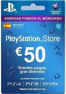 PlayStation Network (PSN) Card - 50 EUR (Spain)