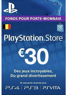 PlayStation Network (PSN) Card - 30 EUR (Belgium)