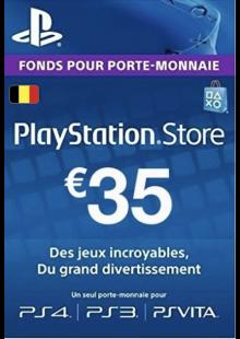 PlayStation Network (PSN) Card - 35 EUR (Belgium)