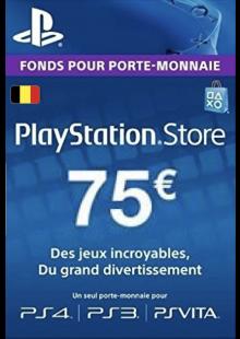 PlayStation Network (PSN) Card - 75 EUR (Belgium)
