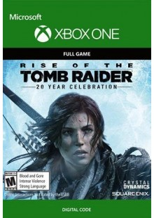 Rise of the Tomb Raider 20 Year Celebration Xbox One