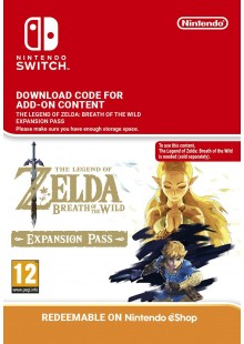 The Legend of Zelda Breath of the Wild Expansion Pass Switch