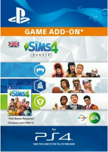 The Sims 4 Bundle PS4